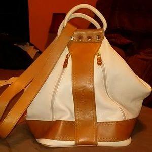Valentina Leather Backpack/shoulder bag